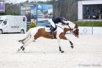 Ulyss Morinda 2nd in the 3* Grand Prix at Bonheiden on the 1st of April 2018