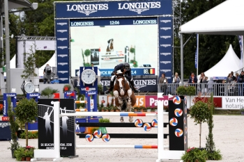 Ulyss Morinda took part in his first CHIO 5* at Rotterdam in June 2017