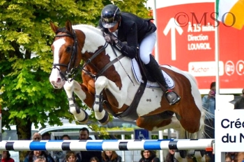 ULYSS MORINDA was placed third in the 1m50 International at Maubeuge on the 10th of May 2019 with a double clear.