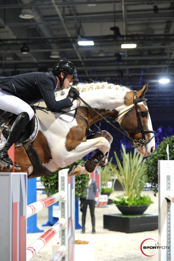 Ulyss Morinda at the 2* Longines Masters in Paris