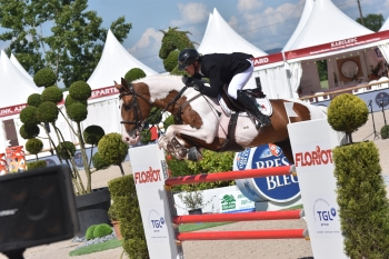 Ulyss Morinda was placed 7th in the 1.50m class at the International Show Jumping at Bourg en Bresse (4*).